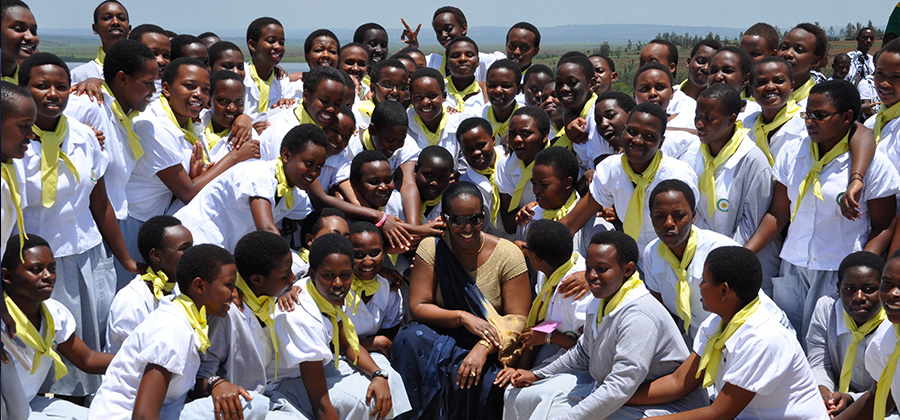 Mrs Jeannette Kagame's 2015 International Women's Day